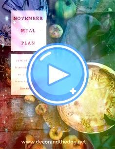 Meal PlanCheck out this monthly meal plan Full of recipes that freeze well so you wont need to cook in DecemberNovember Meal PlanCheck out this monthly meal plan Full of...