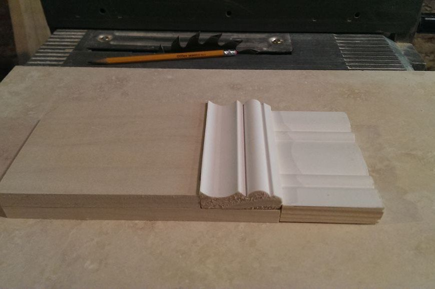Build This Plinth Block From Flat Stock And Crown Molding Plinth Blocks Plinths Diy Crown Molding