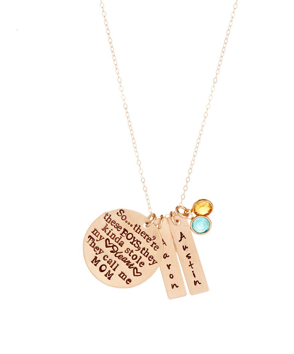 com walmart personalized script plated necklace birthstone ip with heart tail gold pendant name