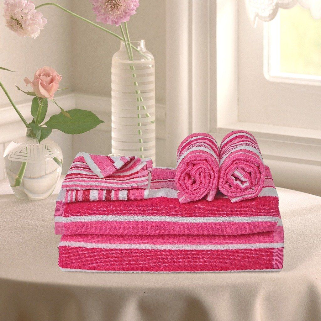Pink Color Bathtowels Buy Face Hand Towels Bath Towels Cotton