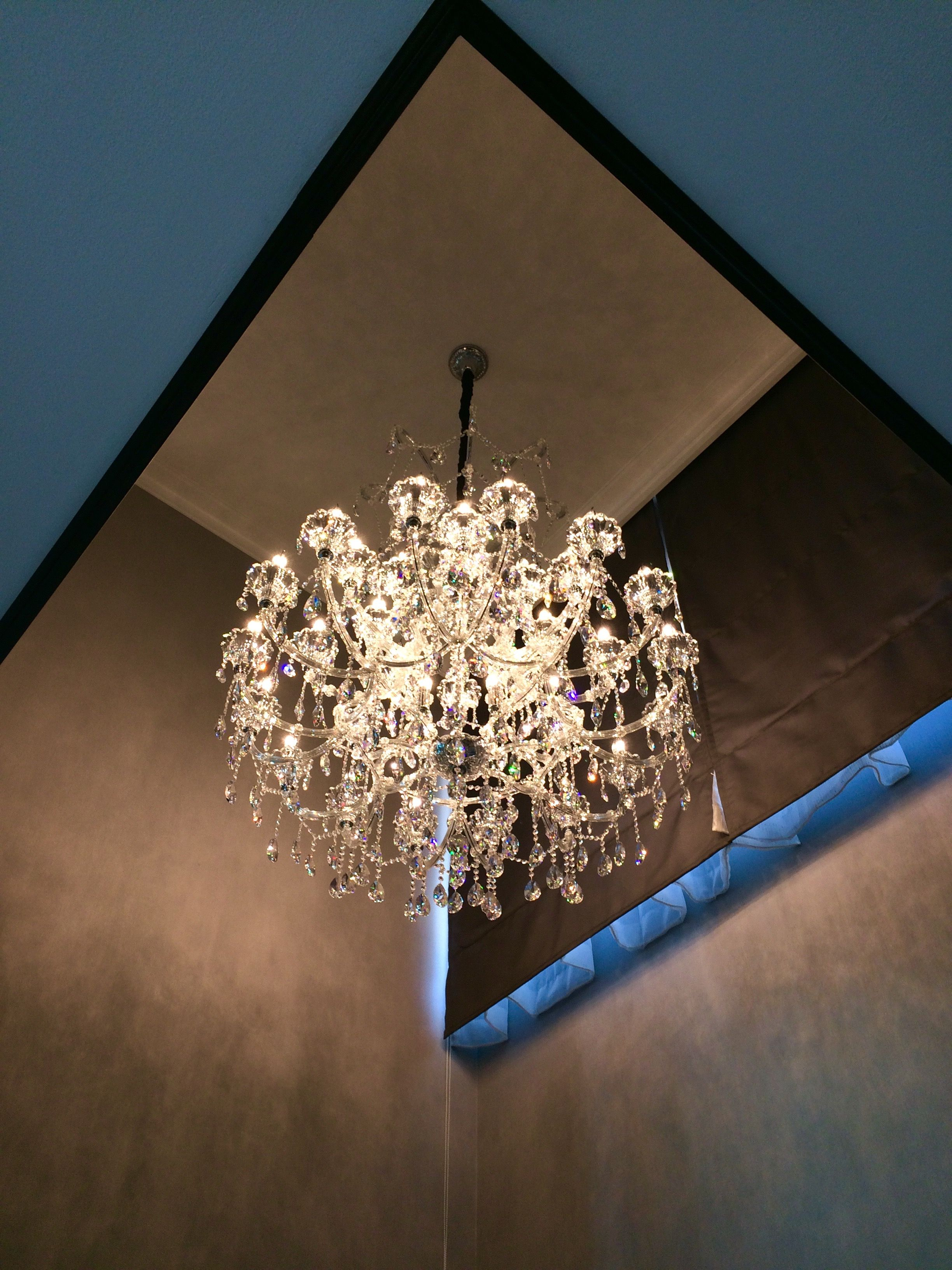 Foyer crystal chandelier KOS home Decorations