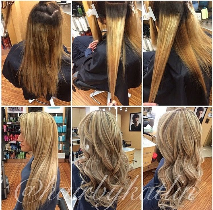 Amazing Transformation Using Glam Seamless Hair Extensions Get