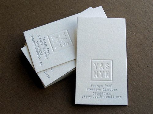 Creative Examples Of Letterpress Business Cards Design   4