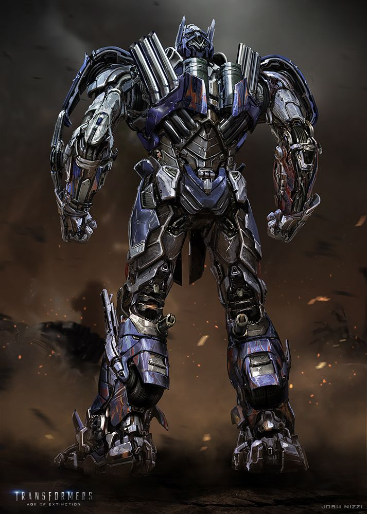Transformers 4 Concept Art Optimus Prime