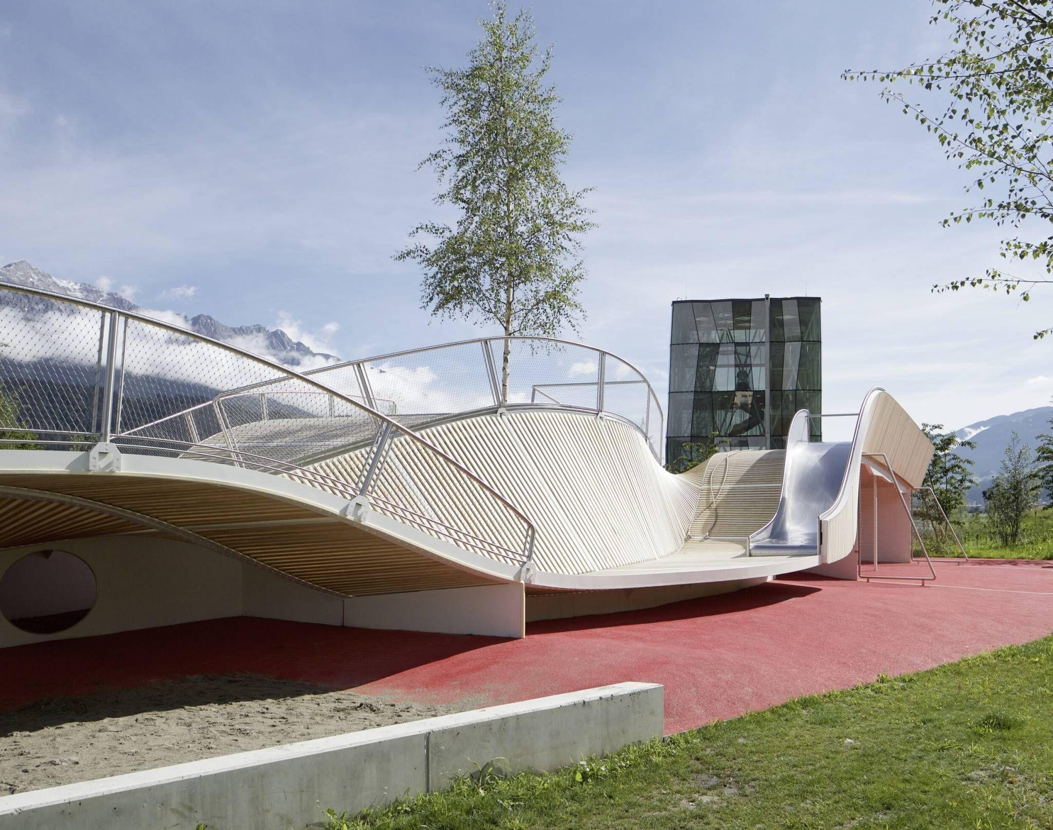 Swarovski Kristallwelten Swarovski Crystal Worlds Wattens Austria Snohetta Architecture Playground Concept Architecture