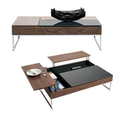 The BoConcept functional coffee table.  Four colors, two sizes.