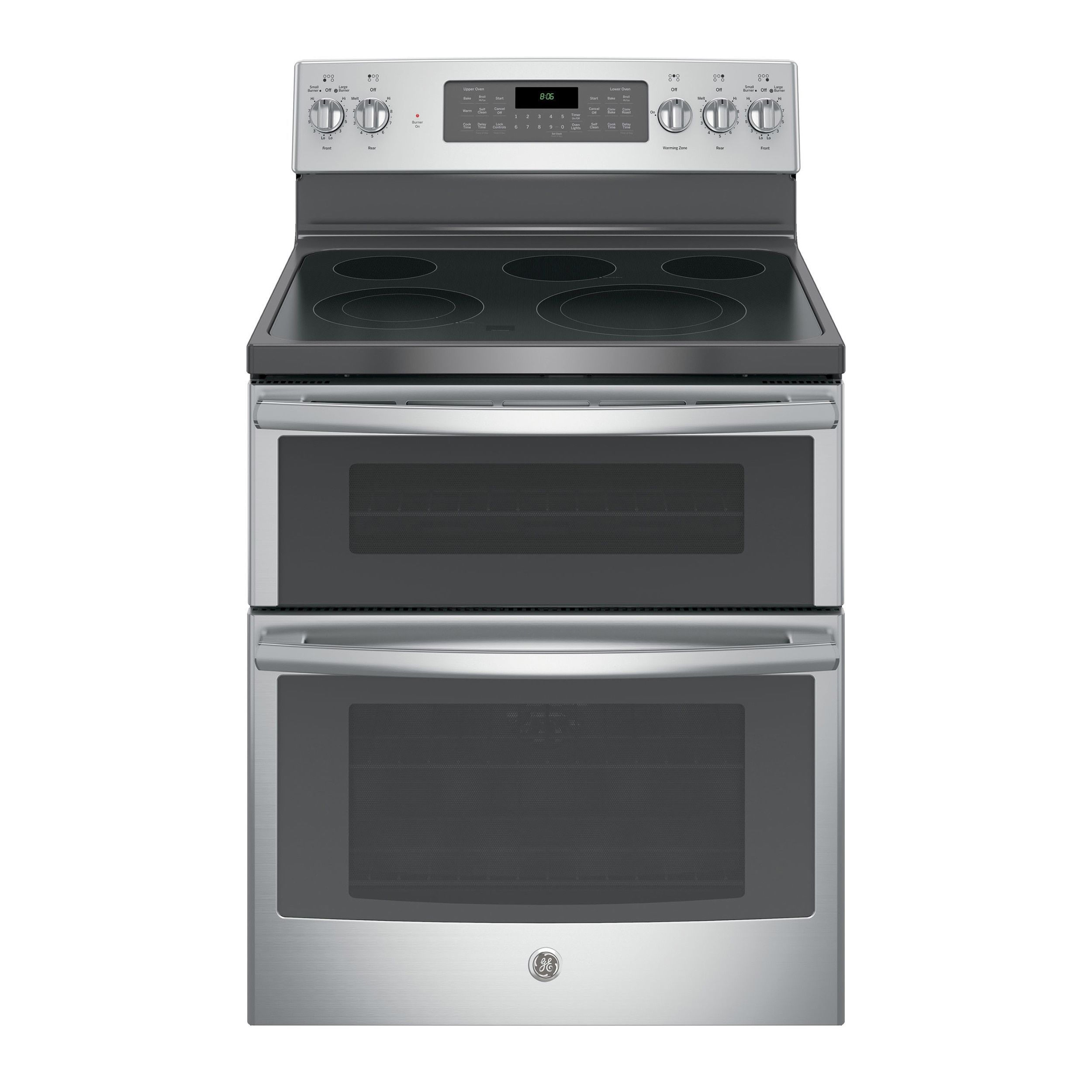 Ge 30 In Free Standing Electric Double Oven Convection Range In