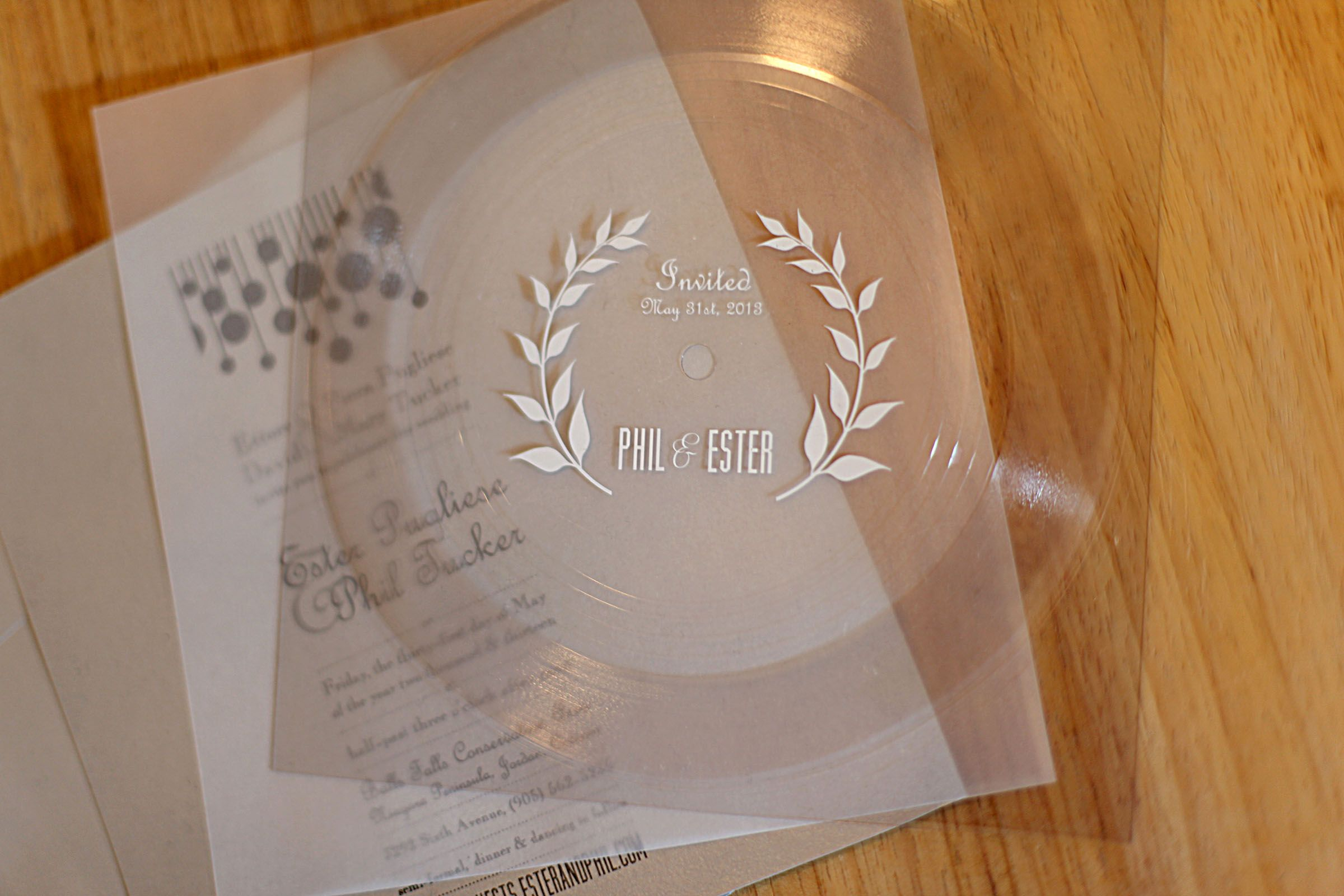 "Wedding Invitation Printing Toronto: Vinyl ""flexi"" Record Wedding Invites THIS IS RIDICULOUSLY"