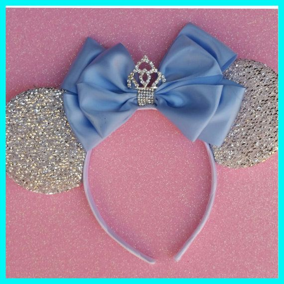 THIS WEEKS SPECIAL!!! $14!!!! (reg. $18) This is a Beautiful 5 Satin double bow with a Mini rhinestone tiara Your choice color Headband!  *Great for