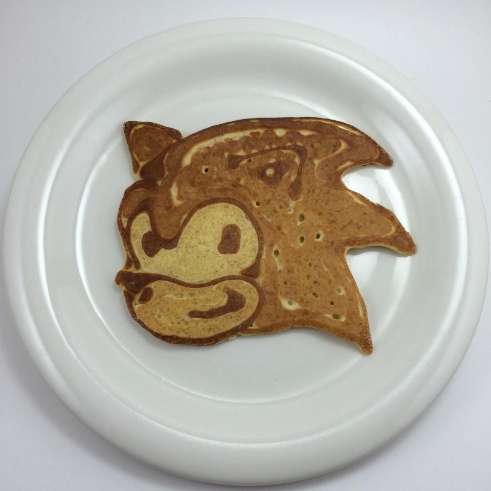 sonic pancake  happy pancake day pancakes pancake art
