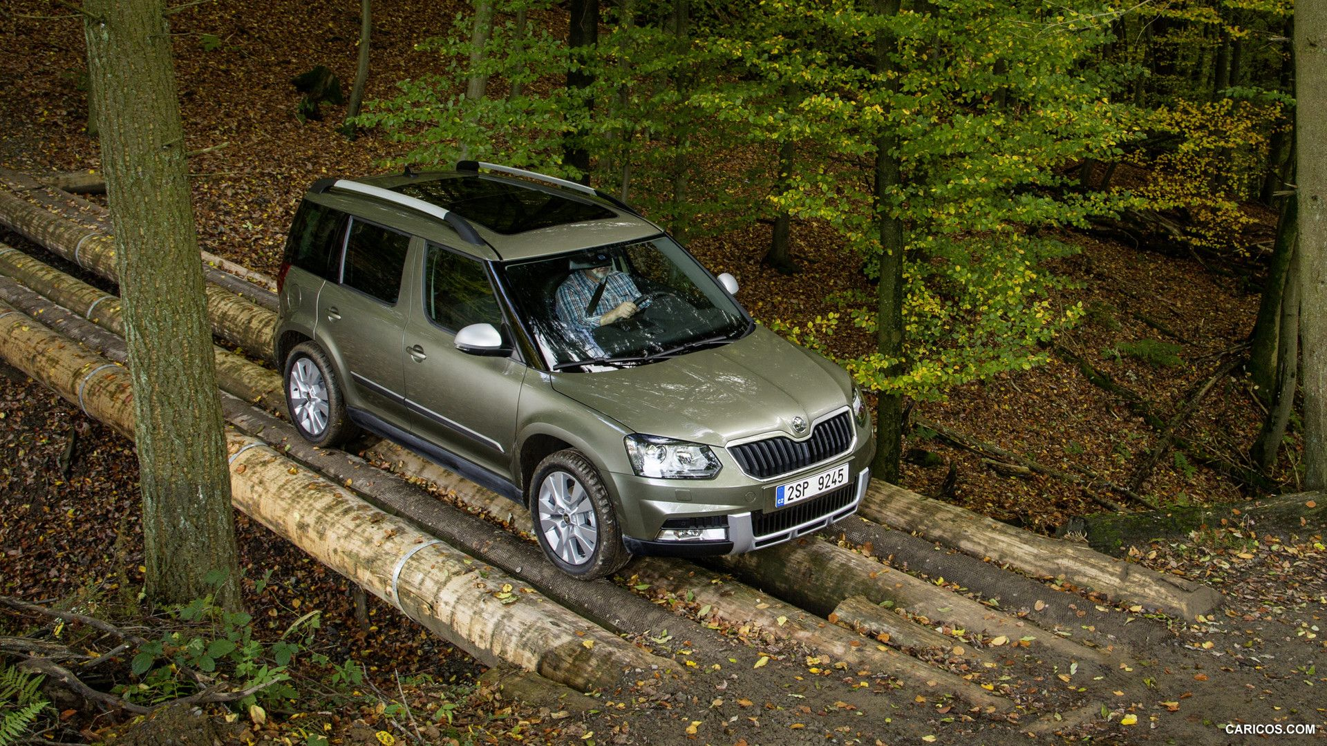 2014 Skoda Yeti Wallpaper Voiture