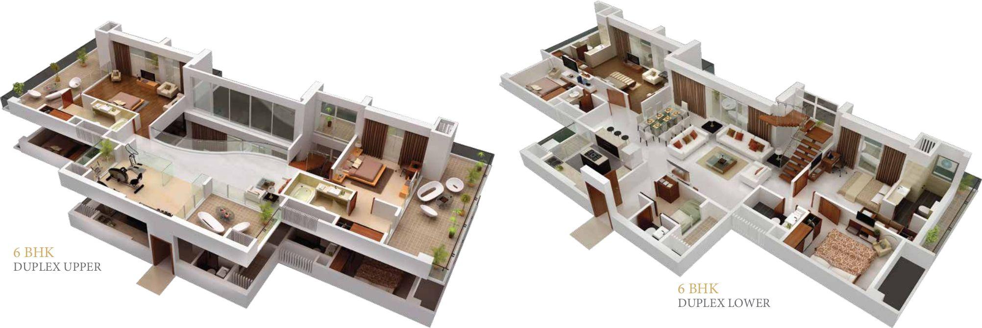 6 Bhk Home Design Part - 23: 261627.jpg (2004×670)