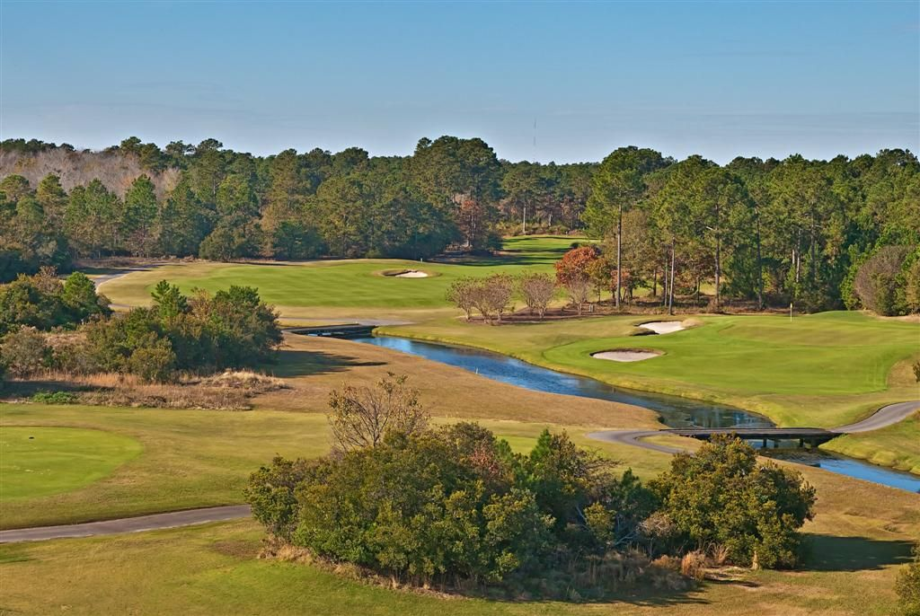The par 71 Heathland course at Legends Golf & Resort, in Myrtle Beach, SC, is one of designer Tom Doak's earliest gems! It takes you back in time to when golf courses were created with an artistic touch and the natural contours of the land dictated the flow of the course!
