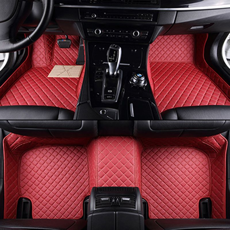Custom Car Floor Mats For Jaguar All Models Xf Xe Xj F Pace F Type Brand Firm Soft Car Accessorie Car Sty Blue