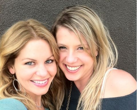 Candace Cameron Bure and Jodie Sweetin