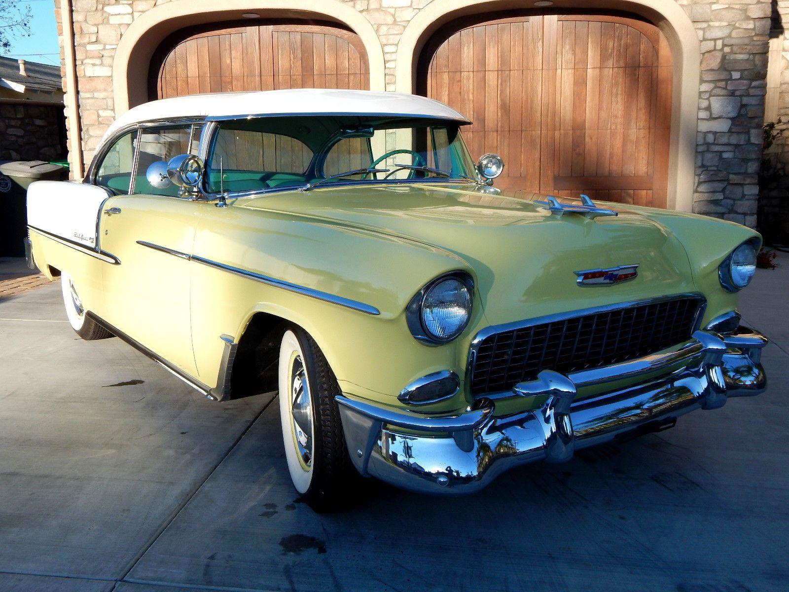 1955 Chevrolet Bel Air 150 210 Sport Coupe 2 Door No Post Hardtop Chevy Ebay