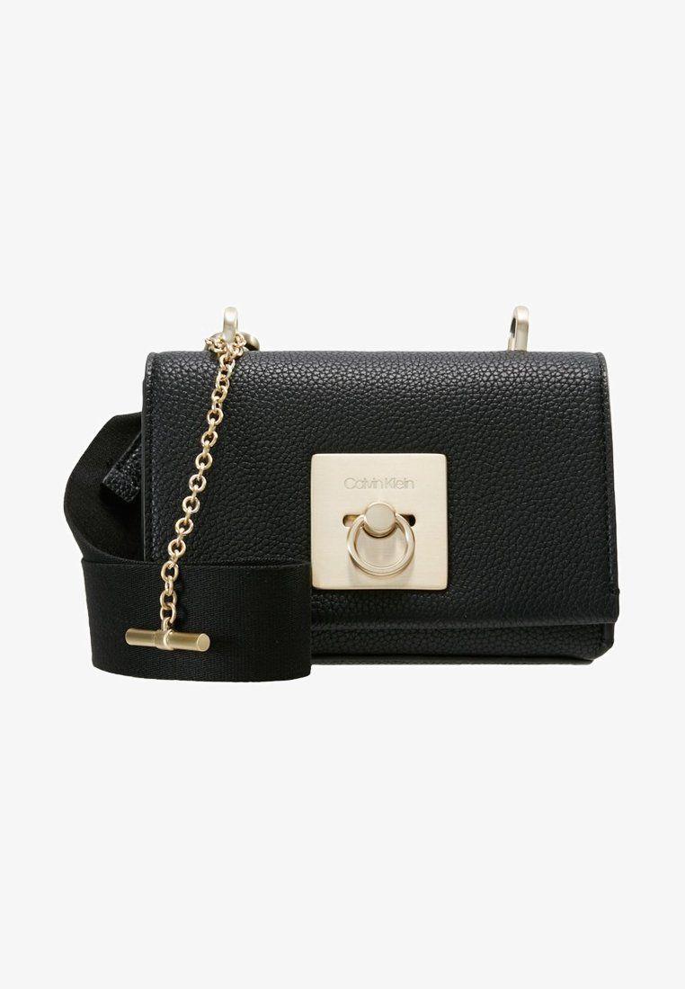 2d7792ef324 LOCK FLAP CROSSBODY - Umhängetasche - black @ Zalando.de 🛒 | Bags ...