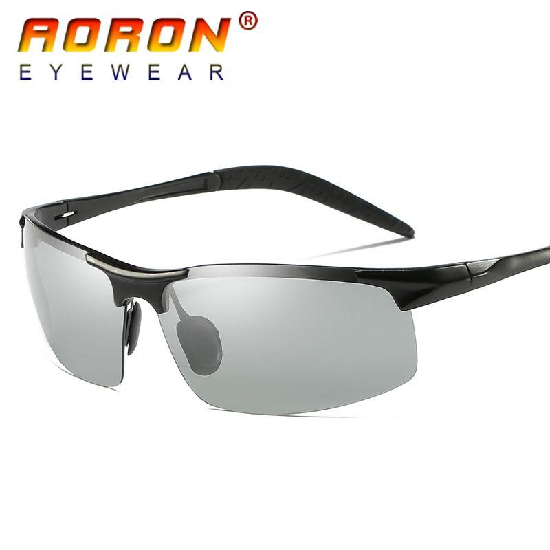 d401360f48 check discount aoron original brand hd lens photochromic polarized  sunglasses men driving day and  polarized  sun  glasses
