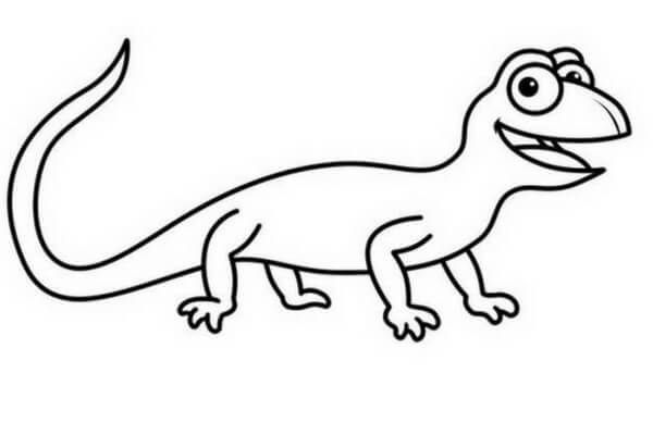 Descarga e imprime GRATIS los dibujos de lagartijas para colorear