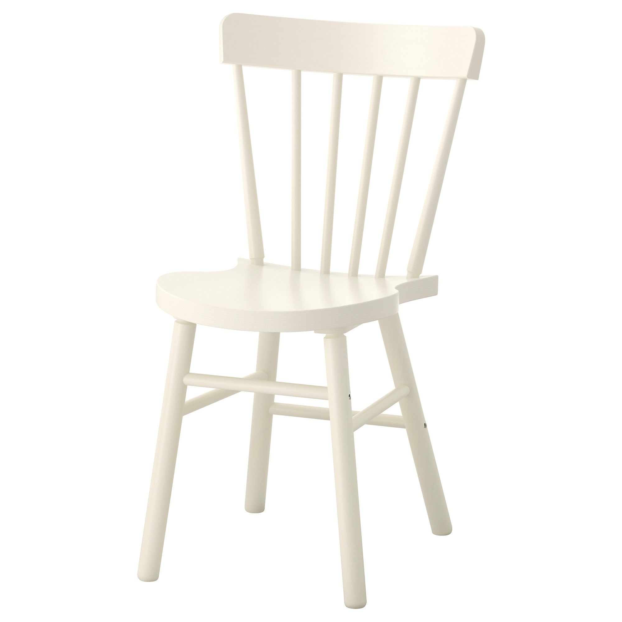 IKEA NORRARYD chair You sit comfortably thanks to the chairu0027s shaped back and seat.  sc 1 st  Pinterest & NORRARYD Chair White | Pinterest
