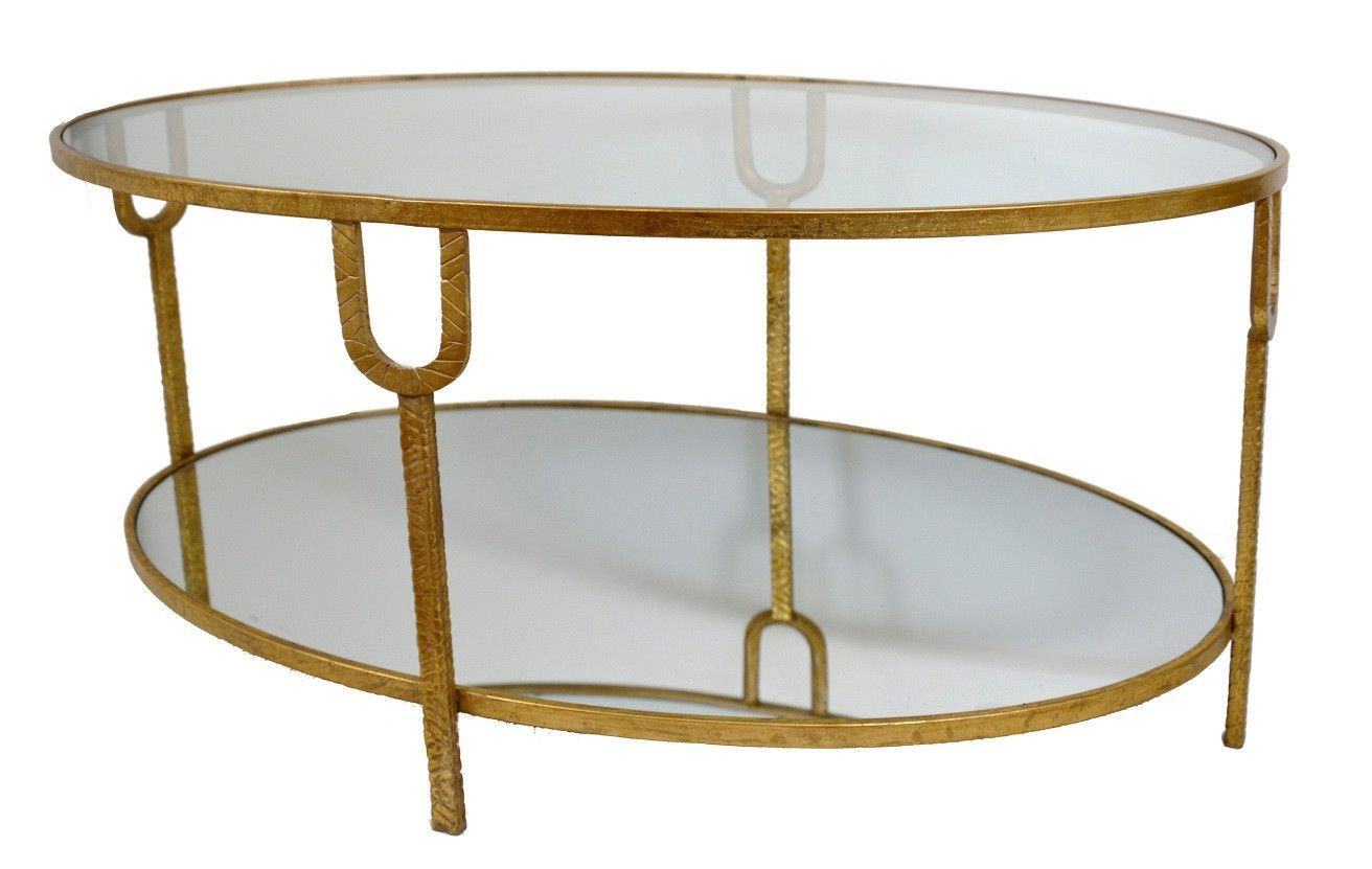 Glass And Gold Coffee Table Coffee Table Gold Coffee Table Oval Coffee Tables [ jpg ]