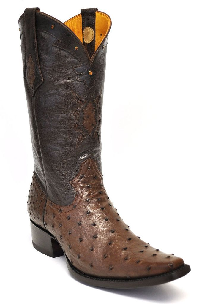 dd130119519 Gavel Handcrafted Spanish Toe Collection Full Quill Ostrich Boots ...