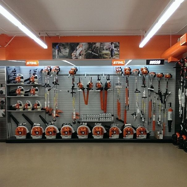 The New Stihl Display Is Up And Ready For Spring Diy