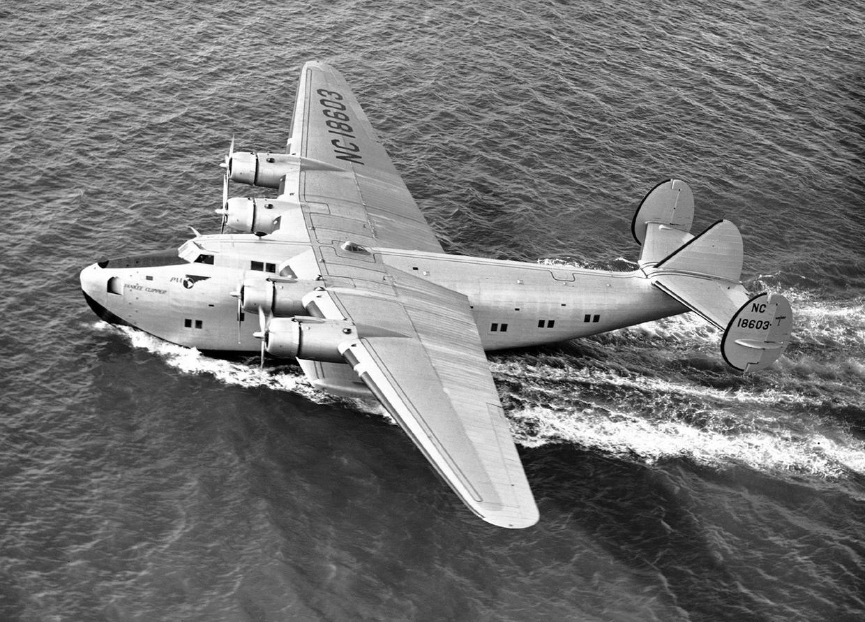 Pan Am An aviation trailblazer Flying boat, Aircraft