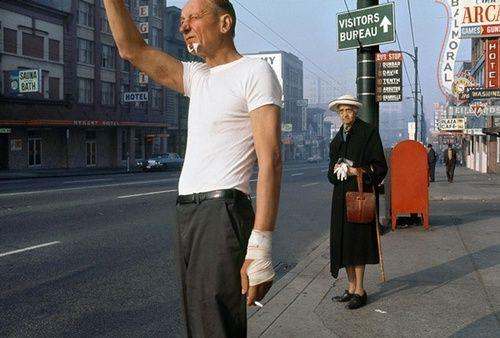 Man with Bandage, 1968, Fred Herzog