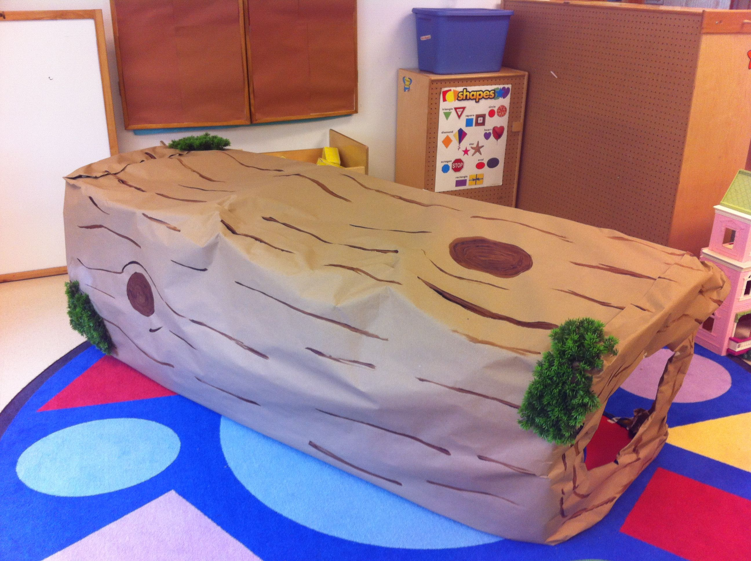 Dramatic Play Forest Log