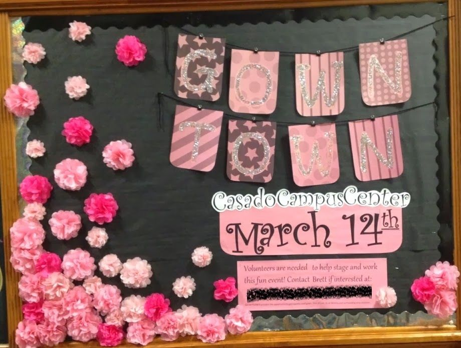 Bulletin Board With 3d Elements Yarn Binder Clips And Tissue