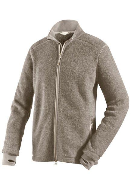 509a75f3c87d Wollfleece-Jacke für Ihn aus reiner Bio-Schurwolle von  hessnatur -  eco