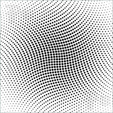 Illustration Of Vector Halftone Dots For Backgrounds And Design