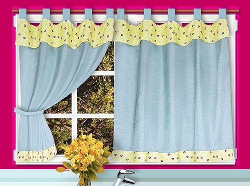 diseos de cortinas para cocina imagui