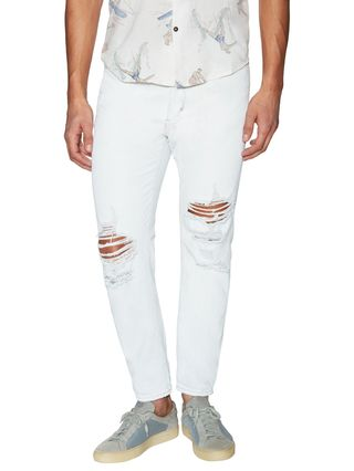 Neuw Denim Cotton Fading and Distressing Studio Relaxed Jeans