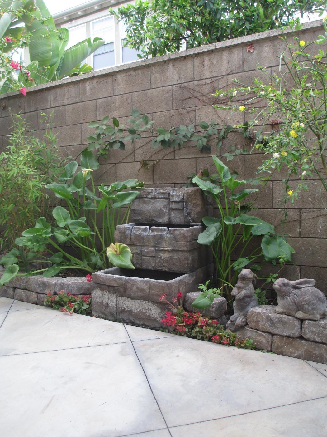 Diy - Wall Fountain Makeover Garden