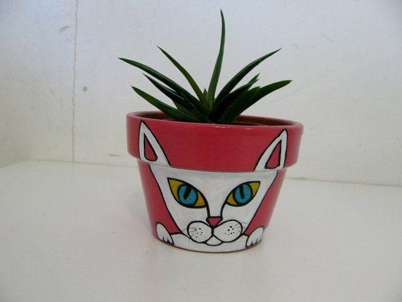 pot de terre cuite peinte la main idees terracotta pots painted flower pots et flower pot art. Black Bedroom Furniture Sets. Home Design Ideas