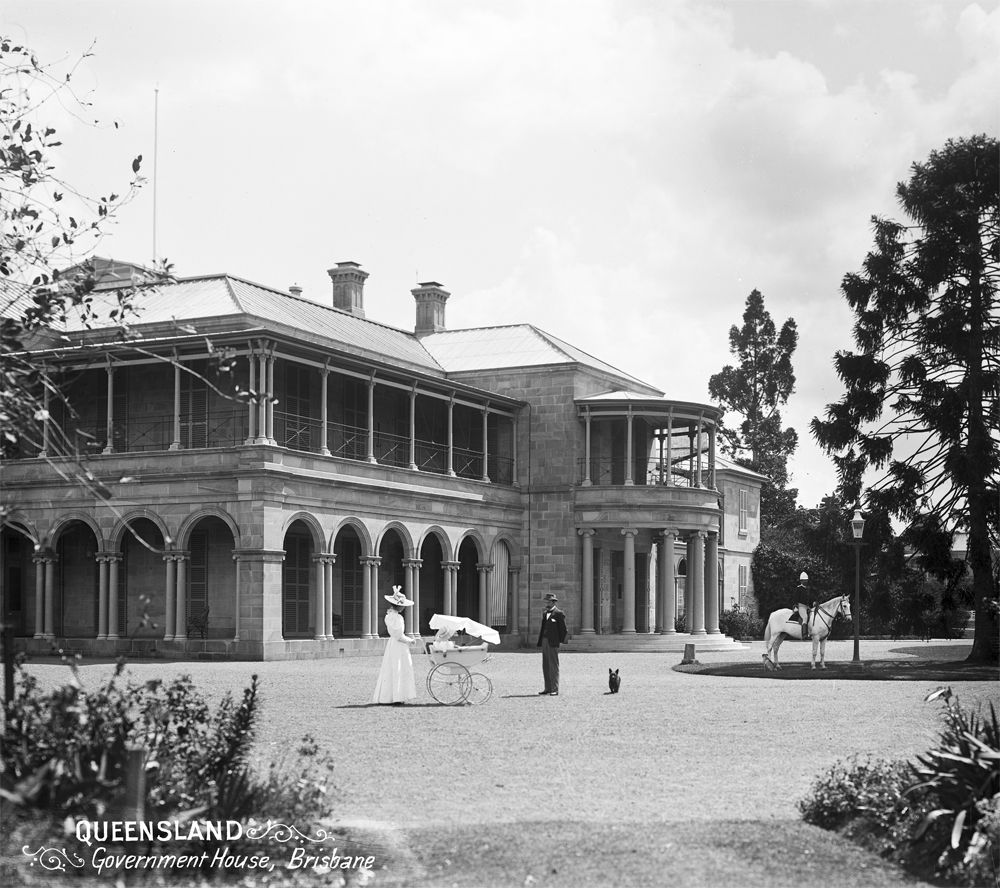List Of Haunted Places In Brisbane: Old Government House, Brisbane, Queensland, C 1898