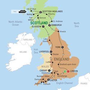 Best Of Britain Preview 2016 Usa Trafalgar Tours Trafalgar Tours Road Trip Europe England Ireland