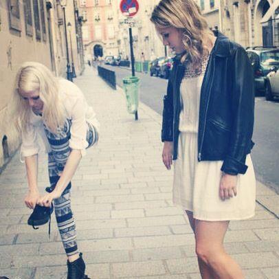 Making Off du shooting de la collection Automne Hiver 13-14 Par la Demoiselle du Marais - Créatrice de bijoux - Paris