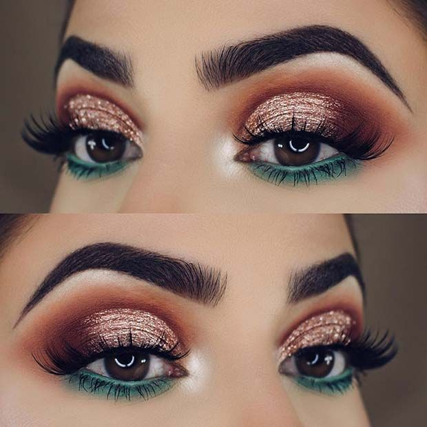 23 glam makeup ideas for christmas 2017 b e a u t y pinterest