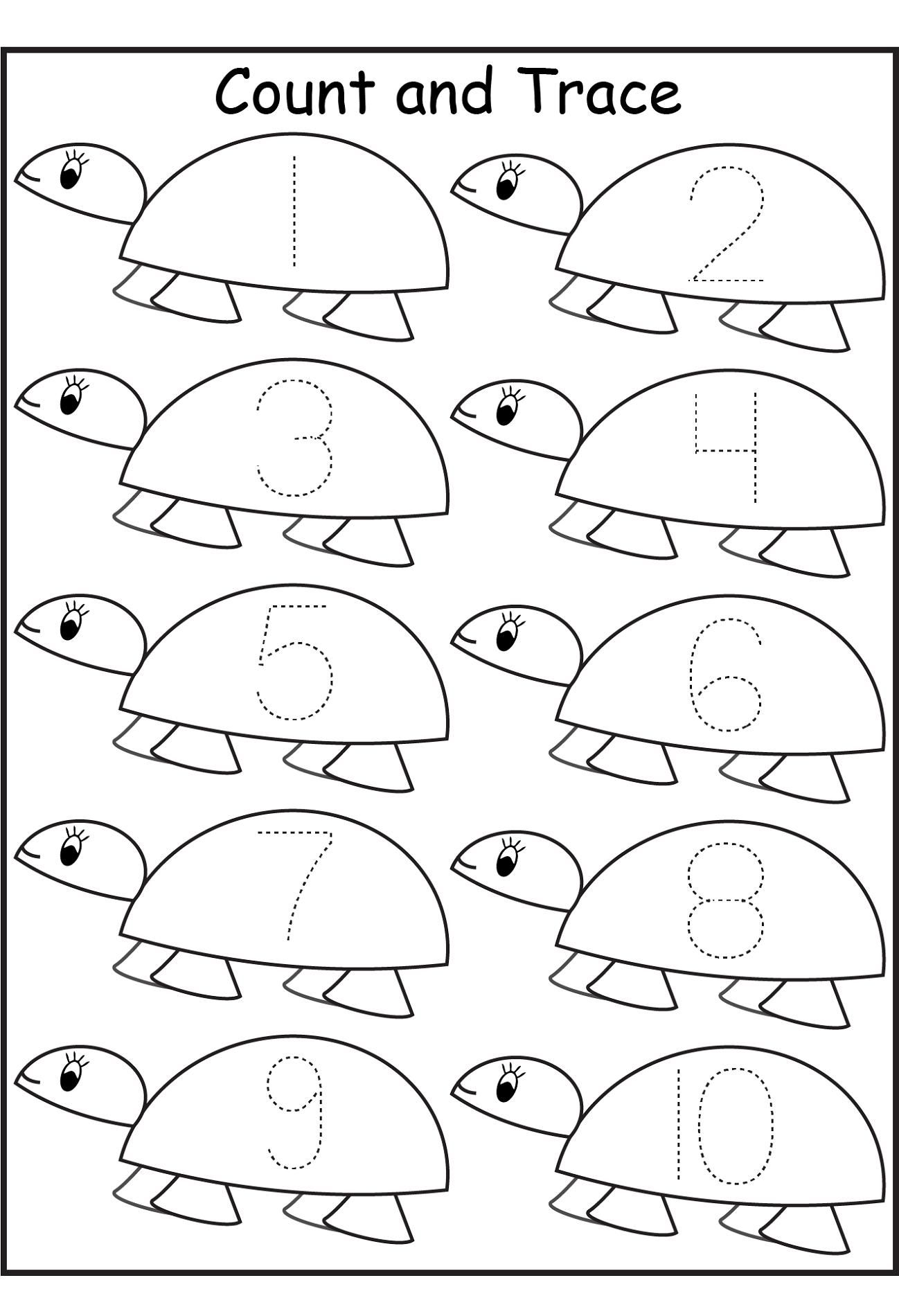 Preschool Worksheets Tracing Letters And Numbers In
