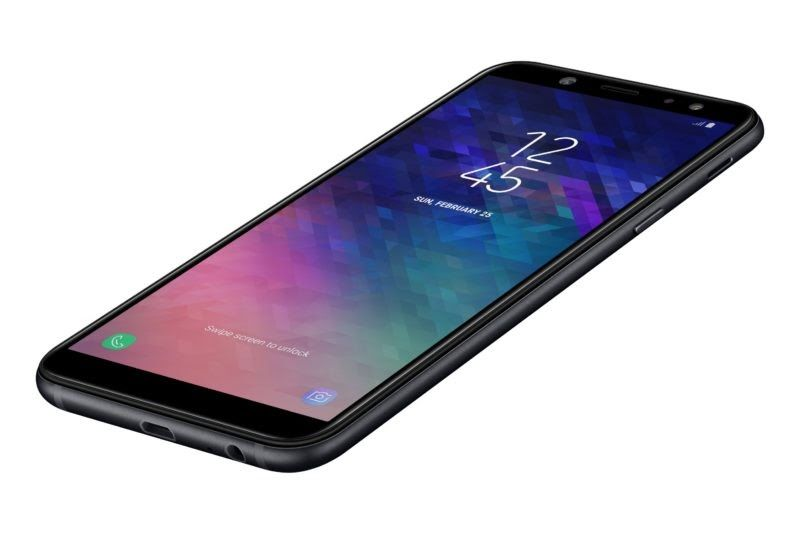The Samsung Galaxy A6 Is Equipped With 1 6ghz Octa Core Exynos 7870 Processor The Phone Comes With 3 4 Gb High Speed M T Mobile Phones Samsung Galaxy Samsung