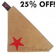 LARGE BANDANA RED STAR