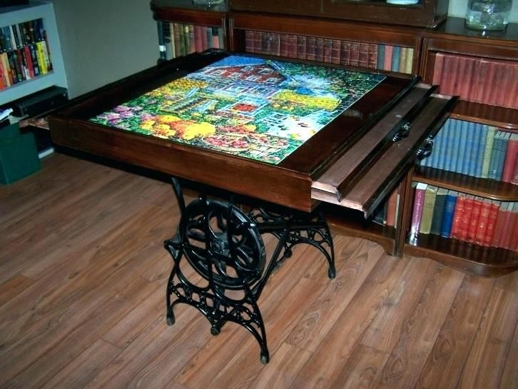 Image Result For Jigsaw Puzzle Board With Drawers My