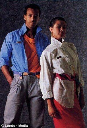 Wonderbaar vintage everyday: Apple's Clothing Line From The '80s   Jaren 80 CB-97