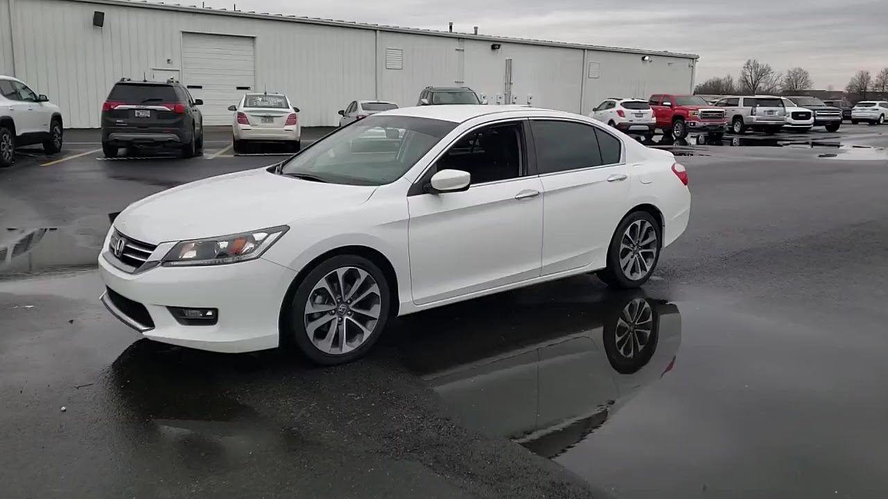 USED 2015 Honda ACCORD SEDAN 4DR I4 CVT SPORT at Central