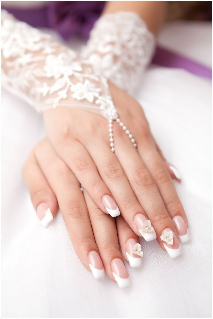 10+ Coolest Wedding Nail Design Ideas - Planning for wedding and ...