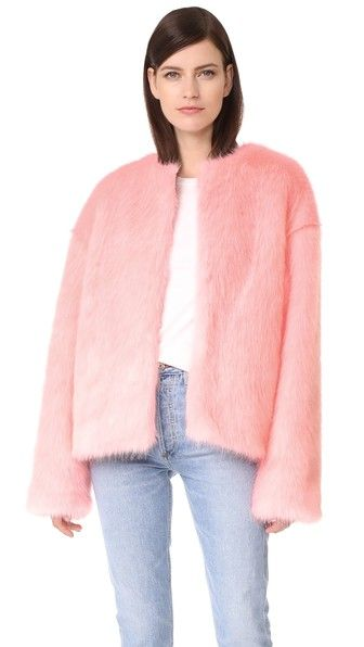 LEHA Hann Faux Fur Jacket | SHOPBOP