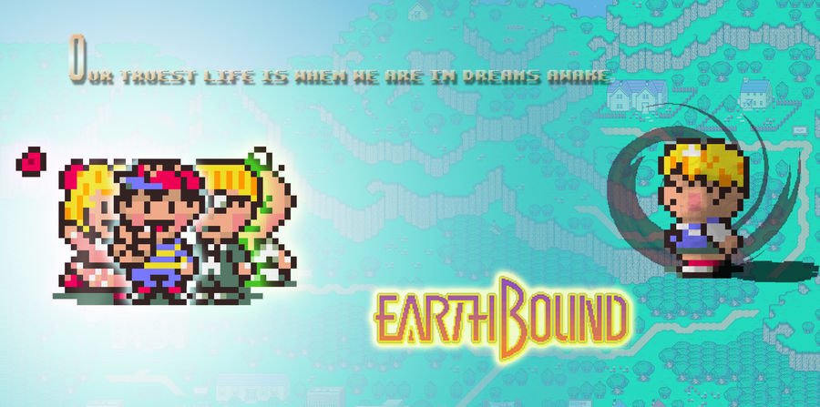 Earthbound Wallpaper By Benthos1 On Deviantart Wallpaper Deviantart Art